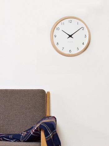 【LEMNOS ( レムノス )】Campagne  壁掛け 電波時計