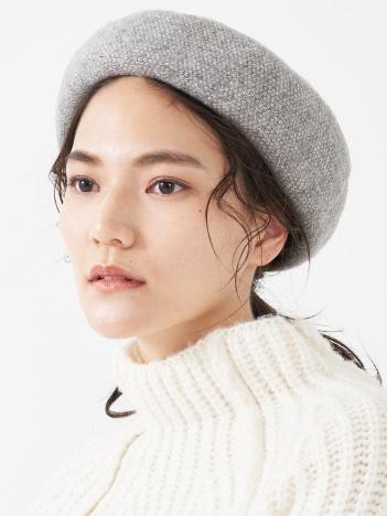 collex - 《ウール混》ニットベレー帽