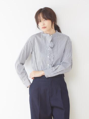 collex - フリルシャツ