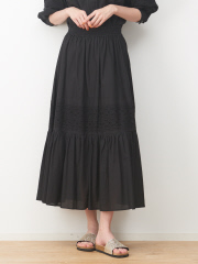 collex - 刺繍スカート