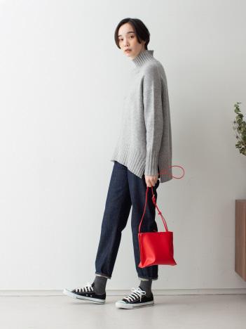 【WEB/一部店舗限定】【THE CASE 】スクエアボックスショルダーバッグ