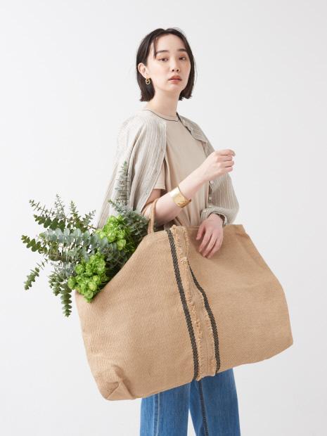 【MAISON BENGAL/メゾン ベンガル】Double Poresh Big Bag