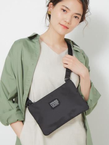 collex - 【WEB/一部店舗限定】Fredrik Packers/フレドリック パッカーズ 420D HORIZONTAL SHOULDER BAG