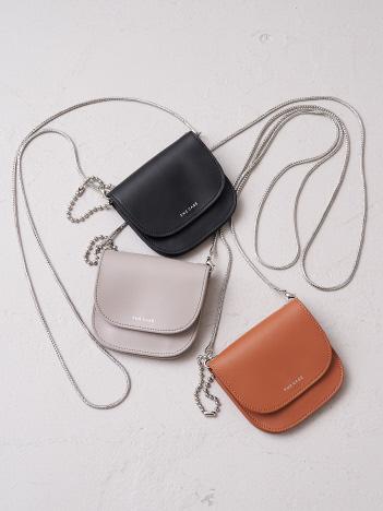 【THE CASE】 round pouch ラウンドポーチ
