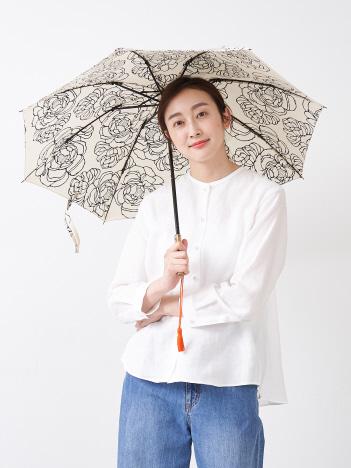 collex - 【傳 tutaee(ツタエ)】ウサギノタスキ オハナ 折り畳み傘