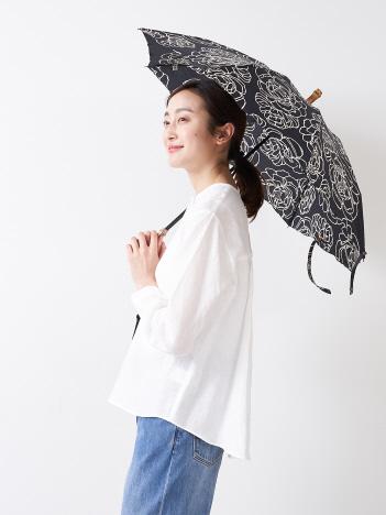 【傳 tutaee(ツタエ)】ウサギノタスキ オハナ 折り畳み傘