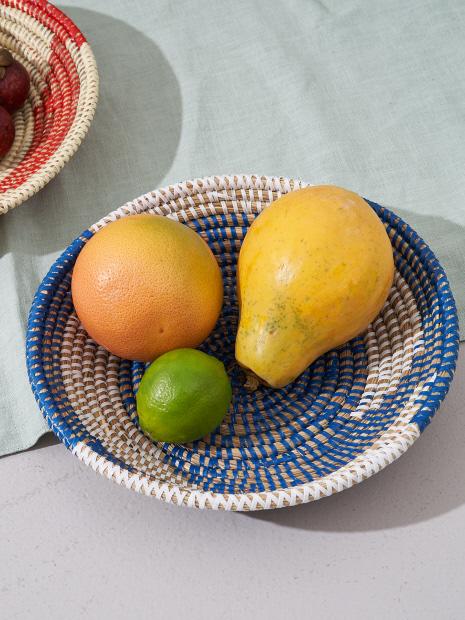 セネガル 皿型バスケット