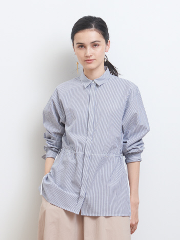 collex - ドロストコットンシャツ