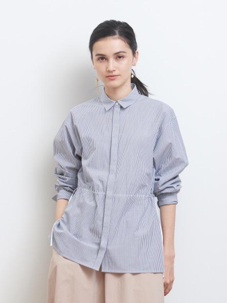 ドロストコットンシャツ