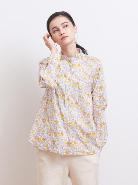 【LIBERTY /リバティ】Wスタンドカラーシャツ
