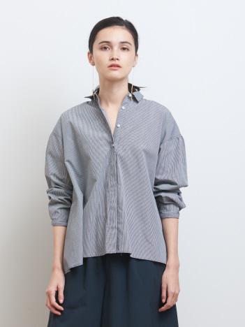 ギンガムリトルカラーシャツ