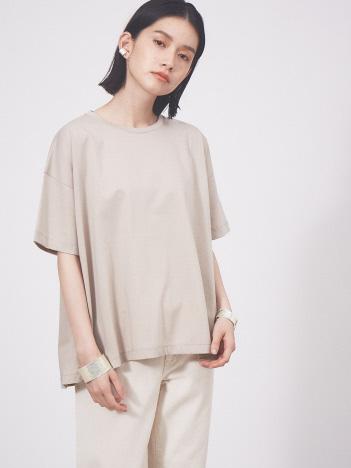 collex - 【接触冷感】コンパクトクールフレアーTシャツ【予約】