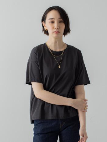 【接触冷感】コンパクトクールフレアーTシャツ