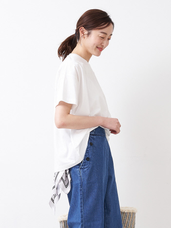 collex - 【接触冷感】コンパクトクールチュニックTシャツ