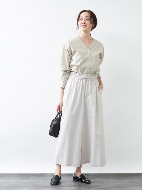 【UVカット・吸水速乾】キュロットパンツ