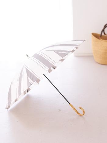 collex - 【今年も登場!】晴雨兼用 日傘 ミックスストライプ長傘