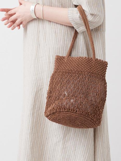 SMALL MACRAMAE bag