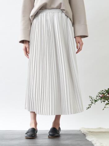 コーデュロイプリーツスカート
