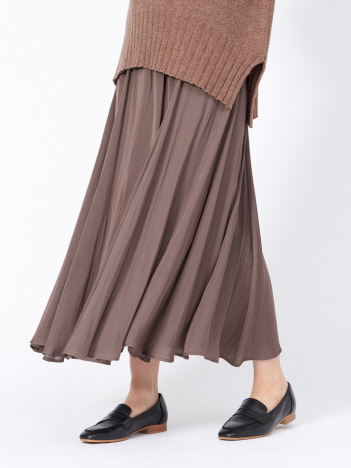 collex - アンティークサテンスカート