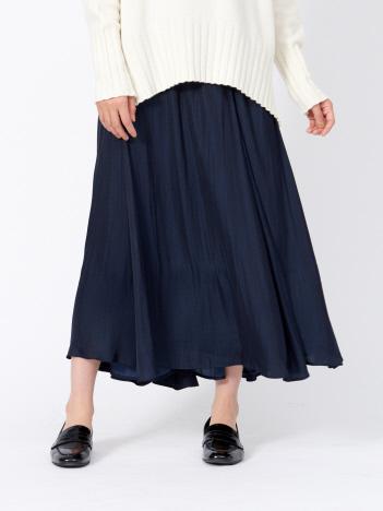 アンティークサテンスカート