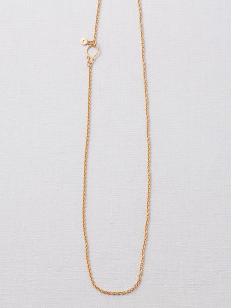 【Pisceans/ピッシェアンス】Round chain Neclace(gold)