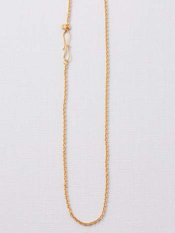 collex - 【Pisceans/ピッシェアンス】Boxy chain Neclace(gold)