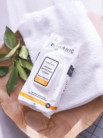 【organicchoice/オーガニックチョイス】バンブーワイプ