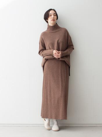 collex - エアヤーンラップスカート
