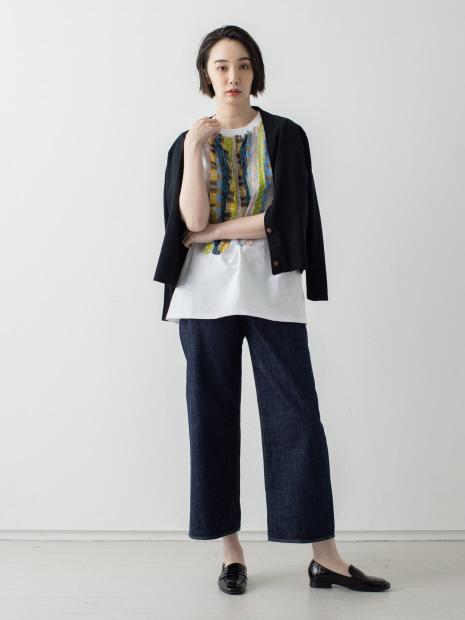 【Dahl'ia】frill design big T-shirt
