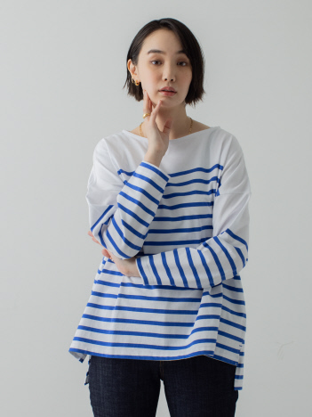 collex - パネルバスクボーダープルオーバー【予約】
