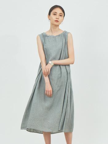 collex - 【Dahl'ia/ダリア】sleeveless one-piece ノースリーブワンピース