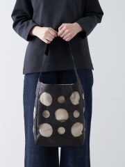 【Ampersand】 hole leather tote M ホールレザートートバッグM