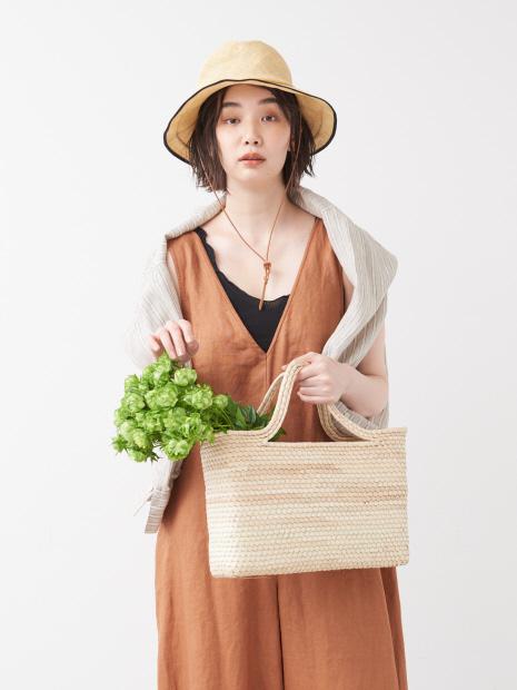 【SANRAMI/サンラミ】編みバッグS