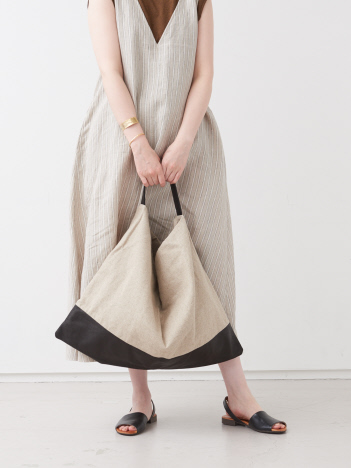 collex - 【Ampersand】 linen one shoulder L/リネンショルダーバッグ