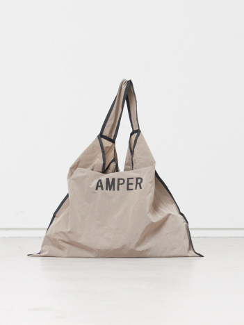 【WEB限定/一部限定カラー】【Ampersand】parachute tote エコバッグ