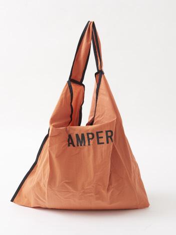 【WEB限定/一部限定カラー】【Ampersand】parachute tote エコバッグ