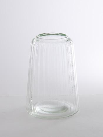 collex - リユースガラスクーレライン フラワ―ベースカヌレット
