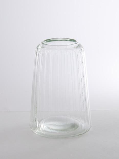 リユースガラスクーレライン フラワ―ベースカヌレット