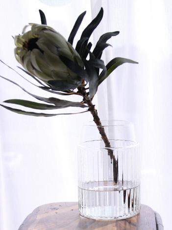 collex - リユースガラスクーレライン フラワ―ベースグルトS