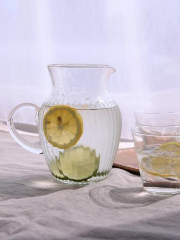 collex - リユースガラスクーレラインピッチャーレモネード