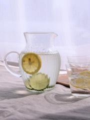 リユースガラスクーレラインピッチャーレモネード
