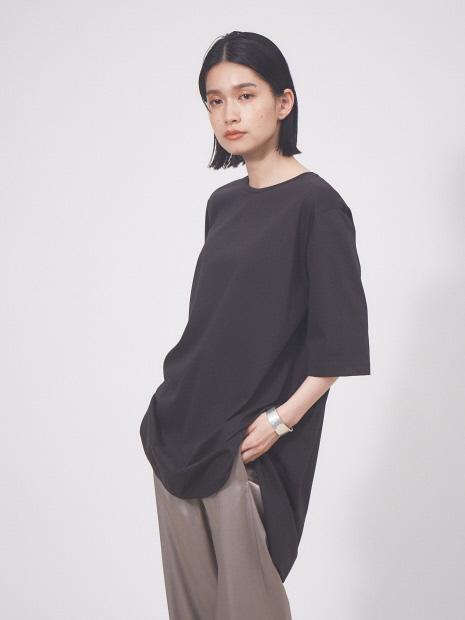 【接触冷感】コンパクトクールチュニックTシャツ