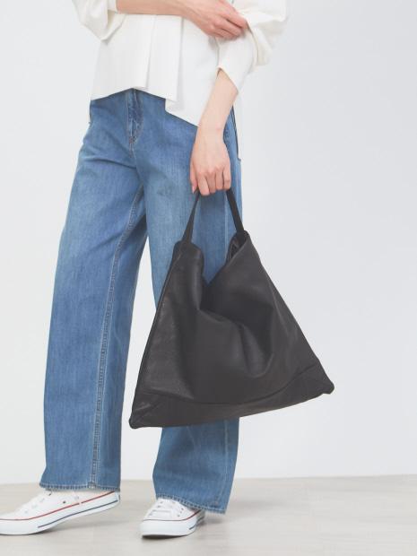 【Ampersand】soft one shoulder bag M ソフトレザーワンショルダーバッグ