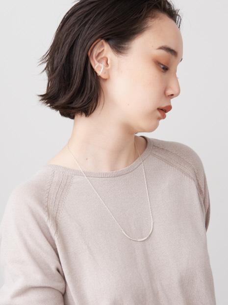 【Ljud/ユード】カーブラインネックレス