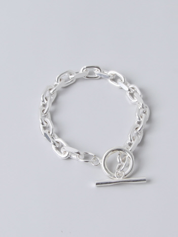 collex - 【Lemme./レム】thin chain bracelet シルバー