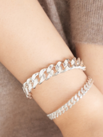 collex - 【Lemme./レム】thick chain bangle