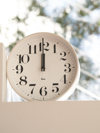 【LEMNOS/レムノス】RIKI STEEL CLOCK 掛け時計