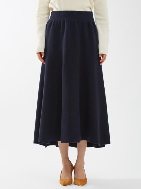 【COCUCA】ループニットスカート