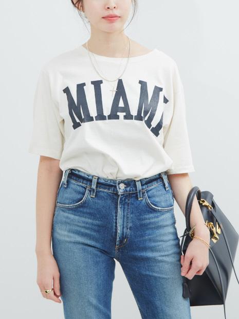 【COCUCA】マイアミTシャツ【予約】