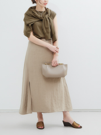 【COCUCA】フレアースカート